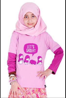 Baju Muslim Anak Perempuan Casual koleksi model baju anak perempuan umur 12 tahun terbaru