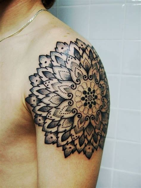 tattooed beauties mandala beautiful mandala