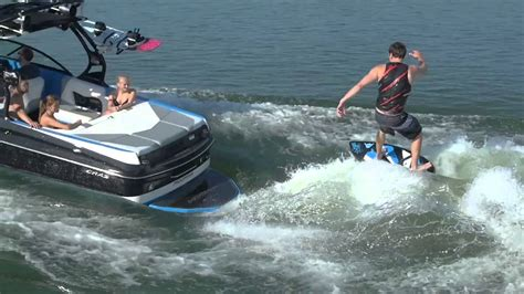 moomba wakeboard boats reviews moomba craz surf review wakeboarding youtube