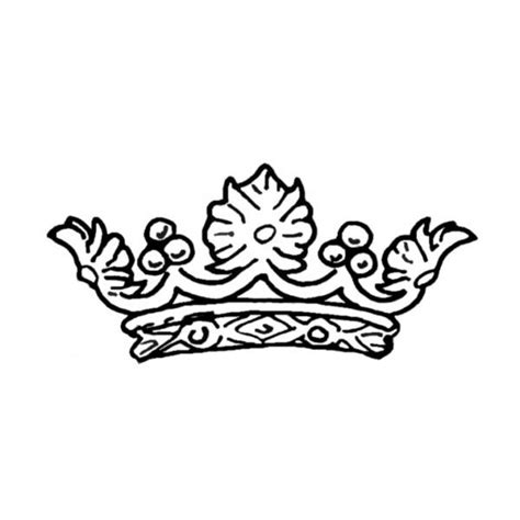 coloring page of a queen s crown crown drawing tumblr