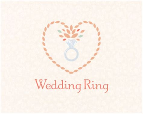 Wedding Rings Logo by Wedding Ring Designed By Dalia Brandcrowd