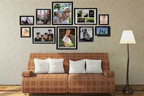 photo wall photo wall set of 10frames premoframe