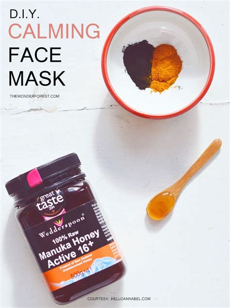 diy organic mask calming clearing diy mask recipe forests and masks