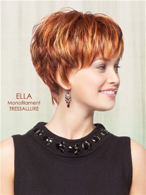 add side bang to tapered hair ella wig by tressallure my style pinterest wig full