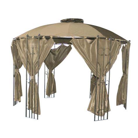 circular gazebo glendale circular gazebo with side curtains 35m on sale