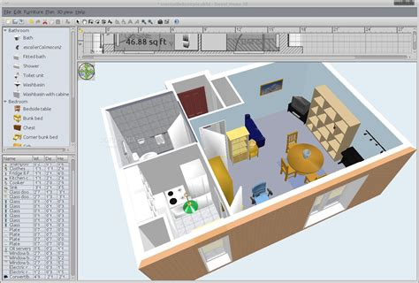 3d home design software open source home design software review surprising sweethome house