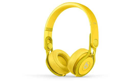Beats Mixr Headphone beats mixr yellow dj headphones