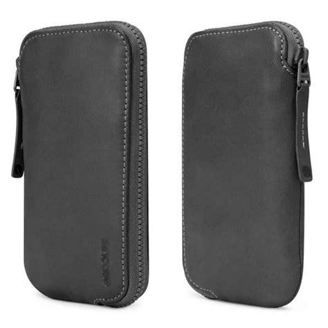 incase leather zip wallet iphone case gadgetsin