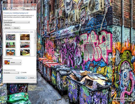 wallpaper graffiti windows 7 graffiti art windows 7 theme download