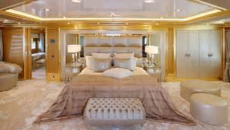 Romantic Chandeliers Bedroom Fendi Benetti 194 Lady Lara Master Stateroom Yacht