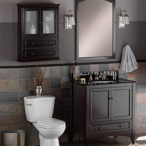 Foremost Bathroom Wall Cabinets Foremost 23 Quot Berkshire Bathroom Wall Cabinet Espresso