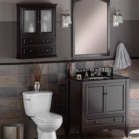 foremost 23 quot berkshire bathroom wall cabinet espresso