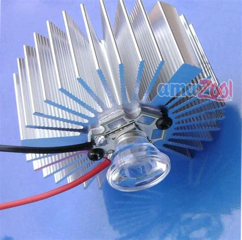 len 16v 3w 12v q5 ultrabright diy cree led w driver heatsink ebay