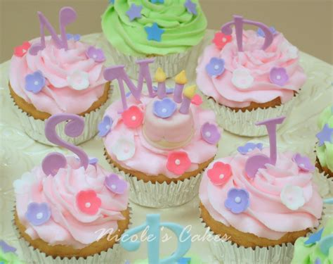 birthday cake cupcakes for girls party themes inspiration
