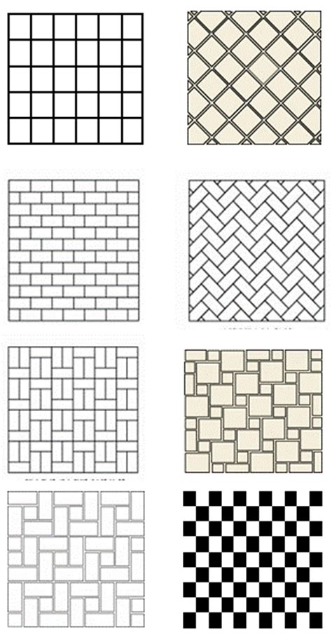 tile pattern layout ideas tile floor patterns to spark your bathroom tile design ideas