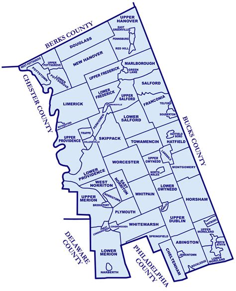 montgomery county township map my blog