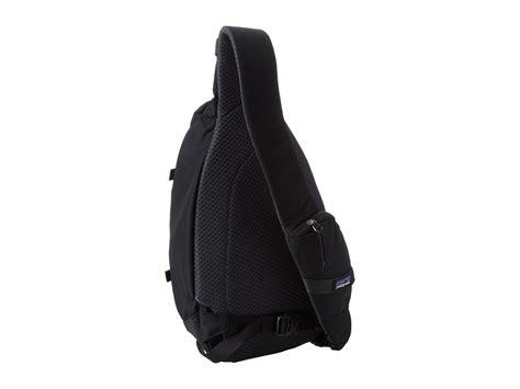 Sling Bag M0ntblanc 8152 2 lyst patagonia atom sling in black for