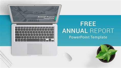 Free Download Annual Report Powerpoint Template For Presentations Youtube Annual Report Powerpoint Template