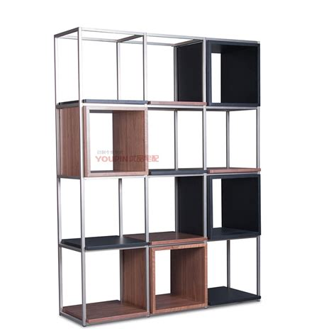 simple stainless steel shelving shelf wood bookcase