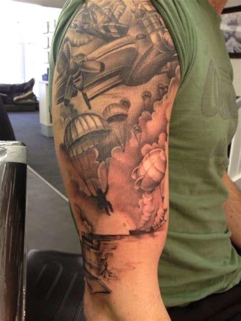 ww2 tattoos 20 world war ii tattoos for d day tattoodo