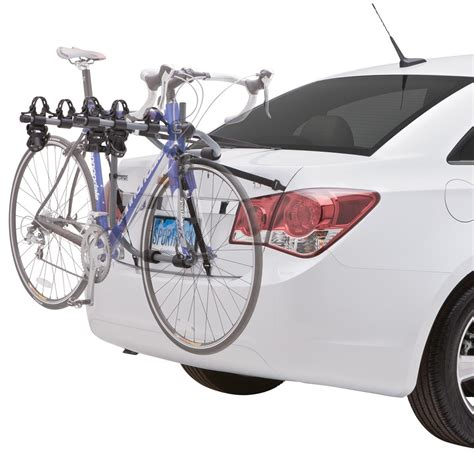 Sportrack Bike Rack by Sportrack 3 Bike Carrier Fixed Arms Trunk Mount