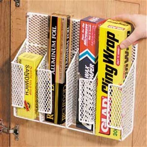 cabinet door kitchen wrap organizer amazon com wire wrap organizer cabinet organizers