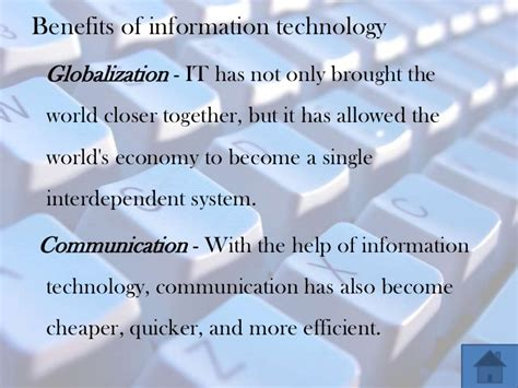 Application For Information Technology by Social Impacts Information Technology