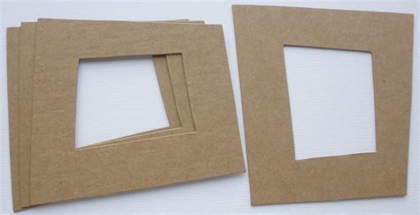 Frame Chipboard 4 retro frame asymmetrical picture chipboard die cuts 4 1 8 quot x 4 1 2 quot