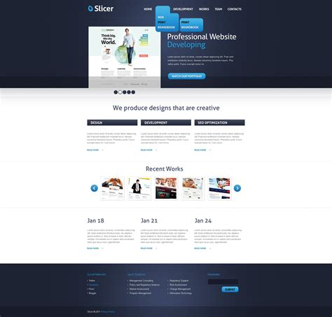 joomla template software design web development joomla template 33822