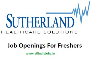 Current Opportunities In Coimbatore For Mba Freshers by Sutherland Healthcare Solutions Freshers Walkin