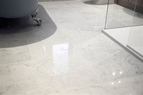 Carrara Marble Floor Tile Carrara Tiles Italian White Carrara Marble Tiles And Mosaics