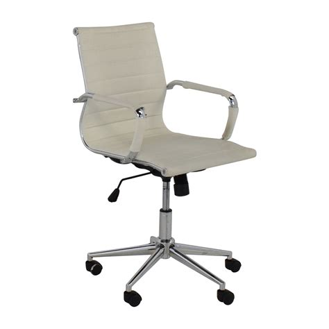 mid back office chair white 32 2xhome 2xhome modern mid back white faux leather