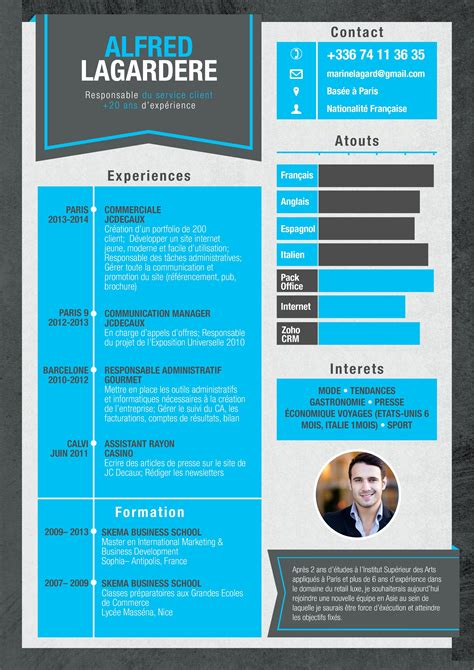 Cv Original by Cv Cv Original Presentation Cv Cv Graphique