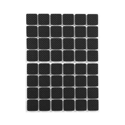 floor protectors for sofa 48pcs black non slip self adhesive floor protectors