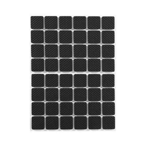 non slip pads for sofa 48pcs black non slip self adhesive floor protectors