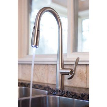 hands free faucet kitchen faucets kitchen faucets and led on pinterest