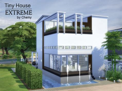 Home Design 3d Outdoor And Garden Tutorial tiny house extreme by chemy at tsr 187 sims 4 updates