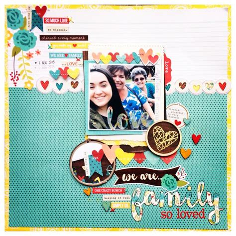 A Scrapbook Layout Of You The Mad Cropper by 1512 Best Images About Family Scrapbooking On