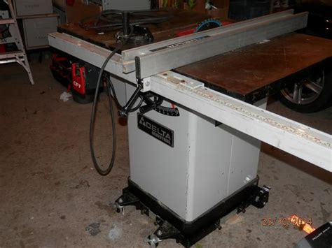 Used Delta Table Saw by Delta Industrial Table Saw 10 Quot Model 36 653c West Shore