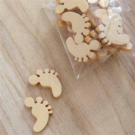 05 Js Thanks 50pcs wooden babs shapes laser cut mdf blank embellishments craft 18mm new ebay