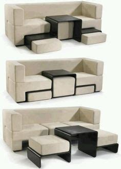 slot together sofa space conservative design on pinterest space saving