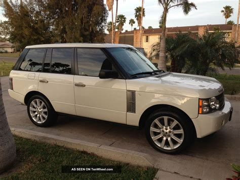 2008 Range Rover Supercharged White