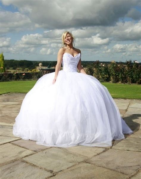 Poofy Wedding Dresses by Big Poofy Wedding Dress Wedding Dresses