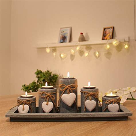 Weihnachtsdekoration Innen Selber Machen by Teelichthalter Set Auf Holz Tablett Weihnachten