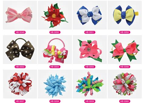 Types Of Hair For Bows by Baby Polyester Bow Decorative Bows Ribbon Hair