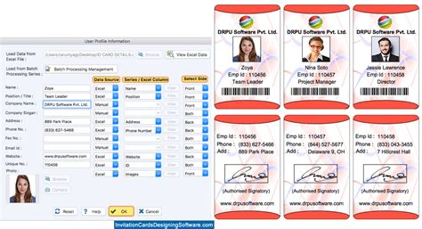 id card design software for mac id card designer corporate edition for mac design multiple