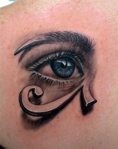 the eye of horus tattoo designs realistic eye tattoos the world 171