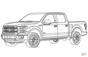 truck colouring sheet ford f150 truck coloring page free printable
