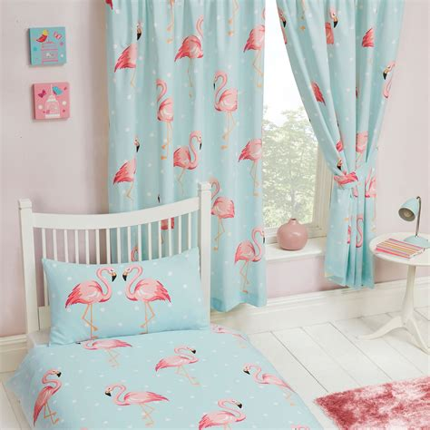 blue lined curtains bedroom fifi flamingo blue turquoise curtains lined 66 quot x 72 quot kids