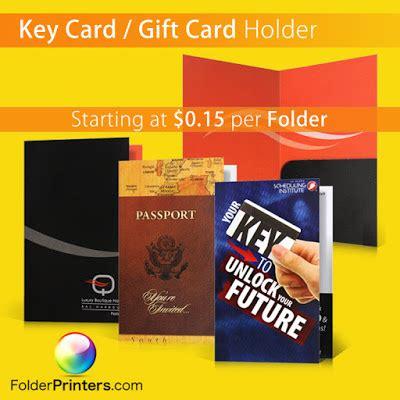 Key Gift Card - folder printers august 2015
